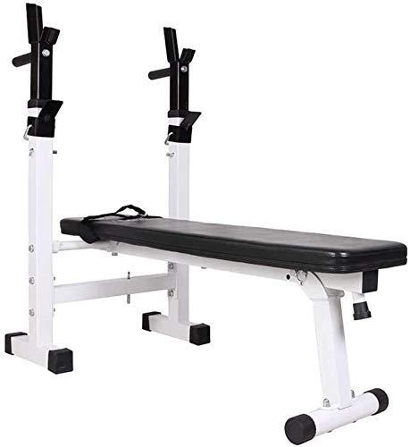 DFKDGL Verstellbare Gewichtsbank Faltbare Trainingsbank für Heimgymnastikübungen, perfekte Mehrzweck-Fitnessbank für Heimgymnastik