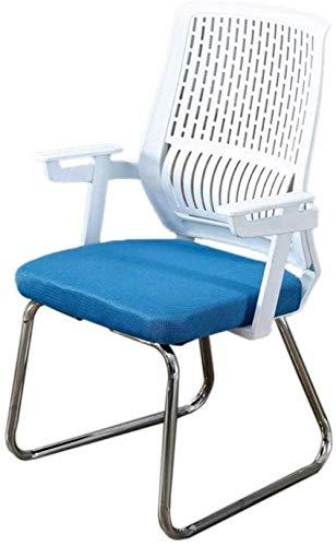 Comfortabele bureaustoel Computer stoel Budget-arm Lift Student Slaapzaal Terug Comfortabele Fit Zacht Blauw