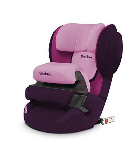 Cybex Silver Juno 2-Fix Seggiolino Auto per Bambini con ISOFIX, Gruppo 1, adatto per 9-18 kg, Viola/Purple Rain