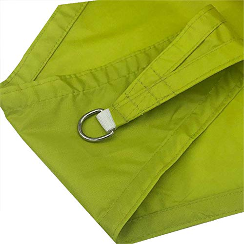Rectangle Shade Sail, Super Durable Heavy Duty, Reinforced Corners, Edges & Permeable Fabric, Waterproof Sun Shade Sail Rectangle(Size:2.5X3m,Color:Green)