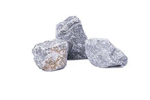 Gabionensteine Kies Splitt Zierkies Edelsplitt Ardennen grau, 60-90mm Big Bag 500 kg