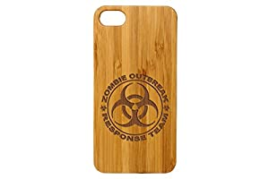 for Apple iPhone 7 & 8 Bamboo Wood Phone Case NDZ - Choose Your Design