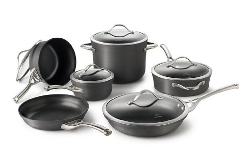 Calphalon Contemporary 11 Piece Non-stick Dishwasher Safe Cookware Set