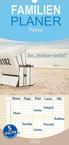 """Das\""""Nordsee-Gefühl\"""" (Wandkalender 2022, 21 cm x 45 cm, hoch)"""