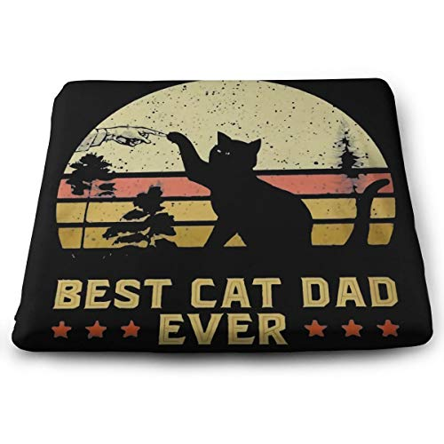 Best Cat Dadfloor Pillow Square Meditation Yoga Seating Cushion Cotton Linen Indian Pillow for Home Decor Garden Party