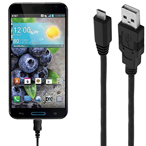 ASSMANN Ladekabel/Datenkabel kompatibel für LG Optimus G Pro - Schwarz - 3M