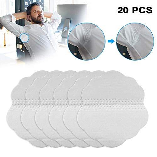 Sweat pad Coussinet Anti Transpirant pour Les Aisselles Protections De Quincunx Jetables D'absorption sous sans Odeur (20 Pcs)