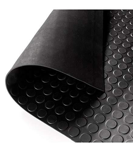Rollo Pavimento caucho goma circulo 15x1.50m y 3mm espesor