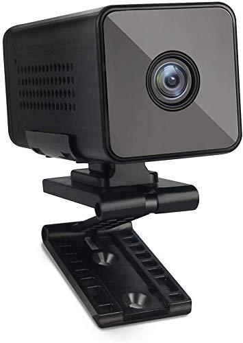 Mini Kamera,Luowice Full HD 1080P Tragbare Kleine WLAN Überwachungskamera, Mikro Nanny Cam mit Bewegungserkennung und Nachtsicht 3000mAh Batterie mit großer Kapazität