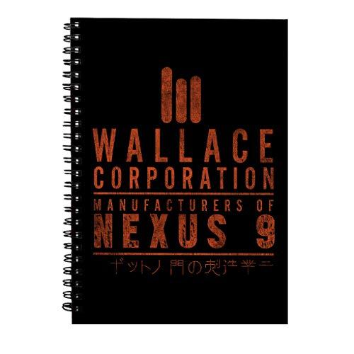 Blade Runner 2049 Wallace Corp Spiraalvormig notitieboek
