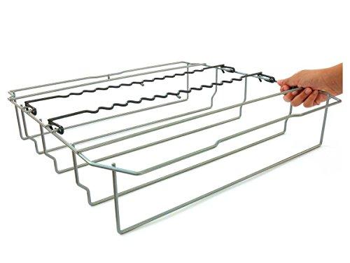 DomoSense PK6022-03 Geschirrspüler-Korbeinsatz für Langstielgläser (für Siemens, Bosch, Neff, Gaggenau, Balay) Zubehör Geschirrspüler Gläserkorb Party-Korbeinsatz