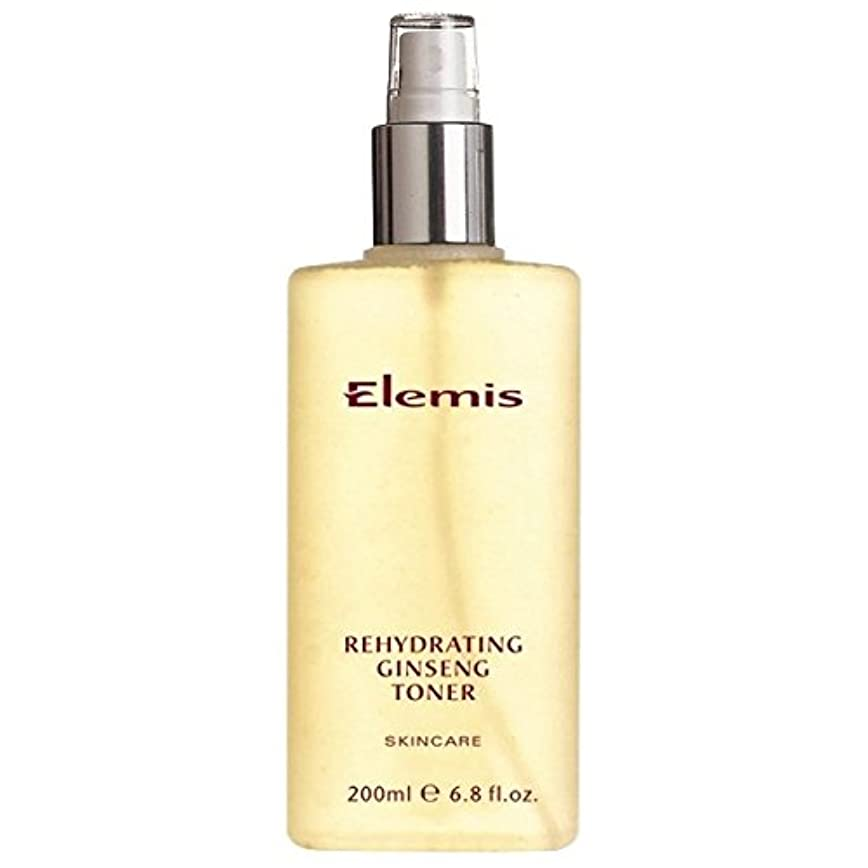 概して葉振動させるエレミスは、高麗人参のトナーを再水和スキンケア (Elemis) (x2) - Elemis Skincare Rehydrating Ginseng Toner (Pack of 2) [並行輸入品]