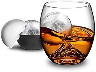 GHI on The Rock, Glas und Eiskugel Set