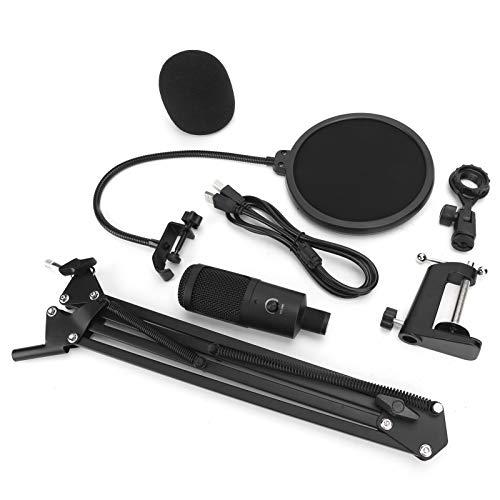 Tonaufzeichnungsset Rauscharme USB-Mikrofon-Audio-Kit-Halterung auf Studio-Ebene Effiziente Halterung zum Singen von Voice-Chat-Aufzeichnungen für Desktop-PCs