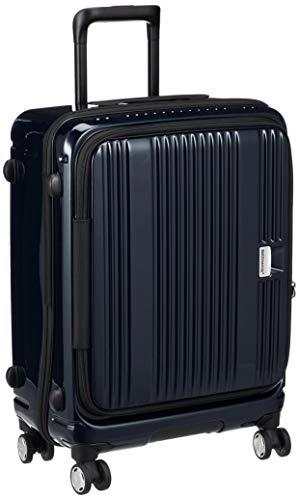 [バーマス] スーツケース ジッパー ユーロシティ フロントオープン 4輪 60291 55L 54 cm 3.3kg ブラック
