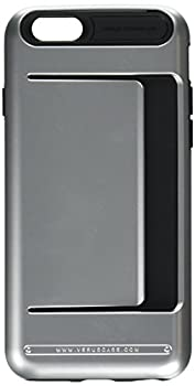 iPhone 6S Case Verus [Damda Clip][Satin Silver] - [Wallet Card Slot][Military Grade Protection] For Apple iPhone 6 6S 4.7