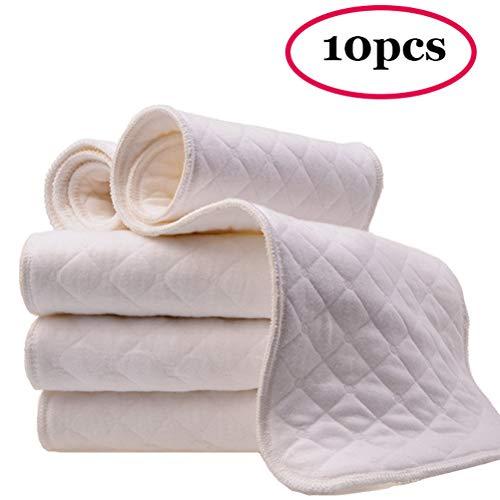 MULI 10 stks Resuable luiers doek luier voor baby, zacht en comfortabel