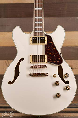 Ibanez AS73G Artcore Semi-Hollow Electric Body Ivory