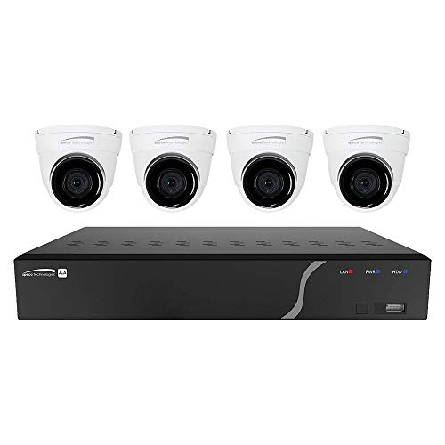 Speco 4 Channel 1 TB NVR y 4 Dome Camera Kit