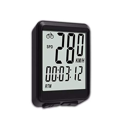 ZDAMN Odómetro de Bicicleta Inalámbrico 15 Funciones LCD Digital ODIRMER BICICLE PRIGUIENTE...