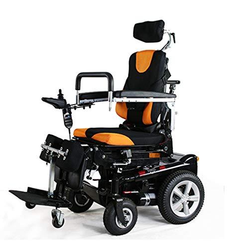 sZeao Silla De Ruedas Eléctrica para, Standing Power Wheelchair, Reclinable, Vehículo De...