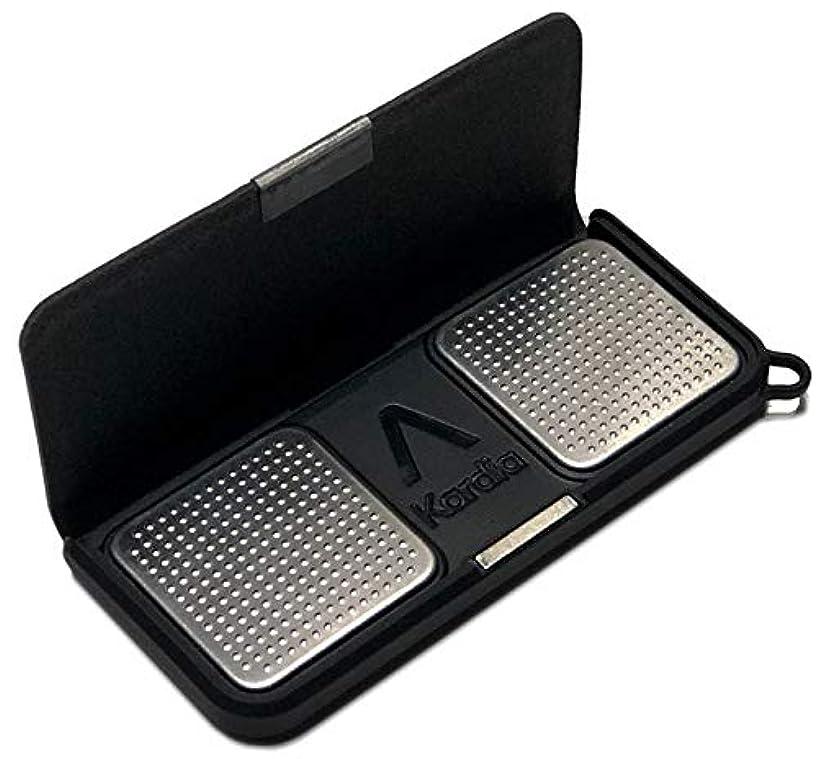 KardiaMobile Case, TUDIA Slim-Fit Heavy Duty [Merge] Extreme Protection/Rugged but Slim Case for AliveCor Kardia Mobile ECG/EKG Heart Monitor (Black)