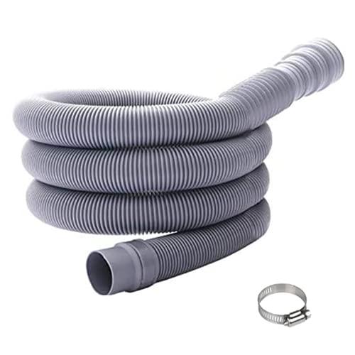 Ncheli Manguera de desagüe,Kit de Extensión de Manguera Manguera de Drenaje Universal Manguera de Desagüe para lavadora y lavavajillas