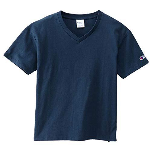 [チャンピオン] Tシャツ Vネック ベーシック CW-M323 ネイビー M