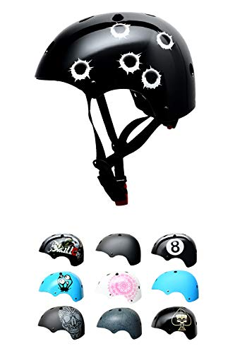 SC Skateboard & BMX Bike Helmet for Kids & Adults – 20 Design