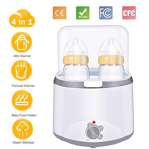 Esterilizador multiuso Suministros para beb/és Secado y desinfecci/ón Dos en uno Gabinete de desinfecci/ón multifuncional para esterilizadores de botellas Esterilizador de vapor UV