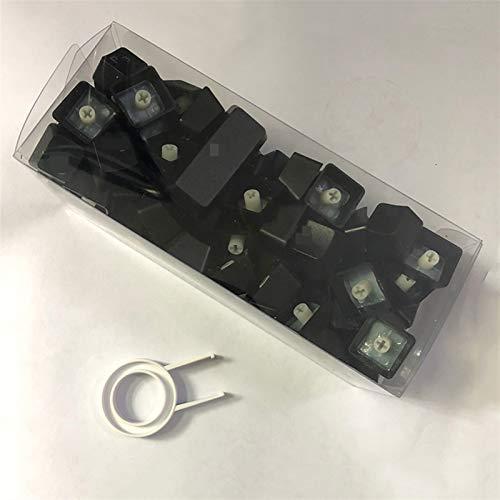 Teclado WASD 1 Set KeyCap para el Teclado mecánico Compatible con la iluminación LED de Soporte del abridor Removedor de Teclas (Color : Black (Box Pack))