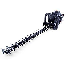 Fuxtec Taille-Haies Thermique FX-MH126 – Lames asymétriques et Guide Chaine 55 cm – 25,5 cm3-6 kg léger et maniable