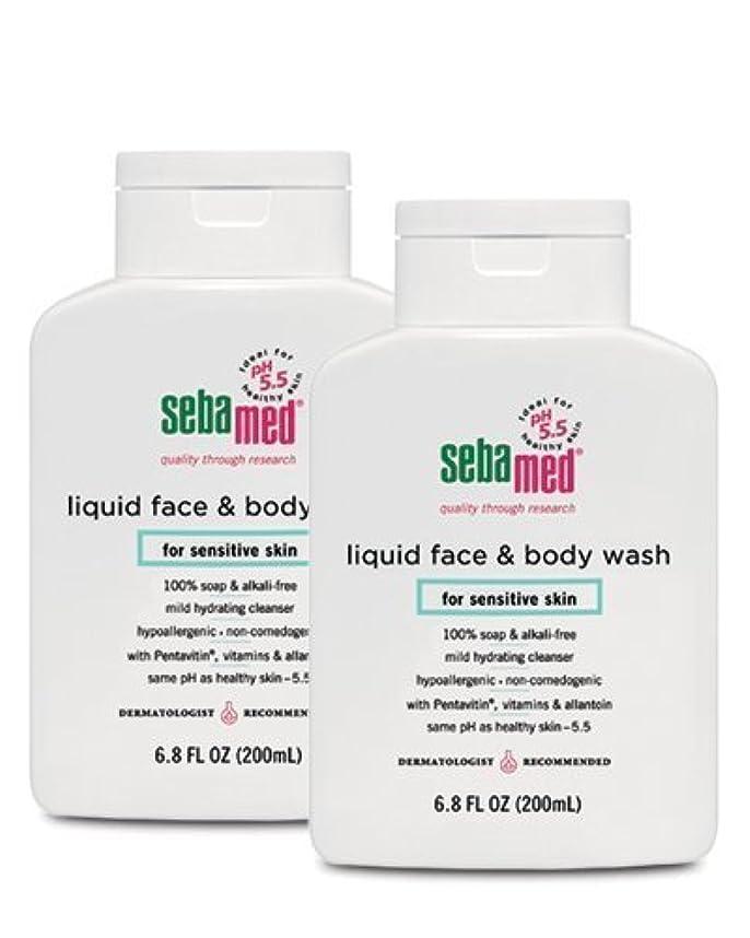 誰論文吹雪Sebamed Face and Body Wash, 6.8 Fluid Ounce Bottle by Sebamed [並行輸入品]