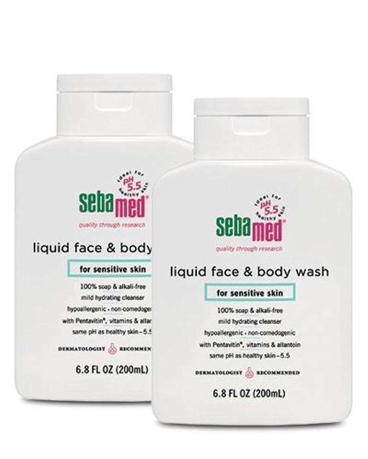 誇張する脅威器官Sebamed Face and Body Wash, 6.8 Fluid Ounce Bottle by Sebamed [並行輸入品]