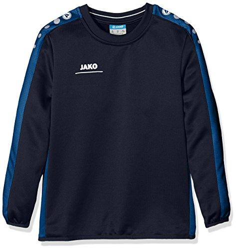 JAKO Kinder Sweatshirt Sweat Striker, marine/nightblue, 140, 8816
