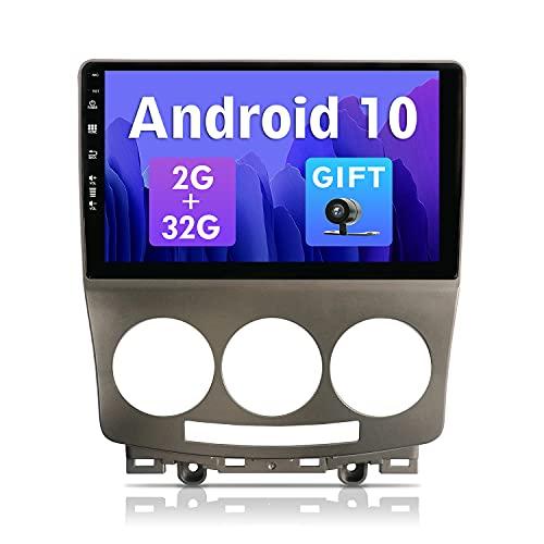 SXAUTOAndroid 10 Autoradio Compatibile Mazda 5 (2005-2010) - [2G+32G] - KOSTENLOSE Rückenkamera - 2 Din - 9 Pollici 2.5D Schermo - Supporto DAB/Volante/WiFi/Bluetooth5.0/Carplay/Android Auto