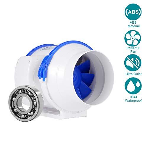 HG POWER Ventilateur Extracteur d'air ø125mm Standard Ventilateur en Ligne Extracteur de Conduit