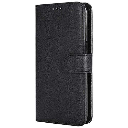 DENDICO Cover Galaxy S7 Edge, Premium Portafoglio Custodia in Pelle, Flip Libro Custodia Slim TPU Bumper Magnetica Caso per Samsung Galaxy S7 Edge - Nero