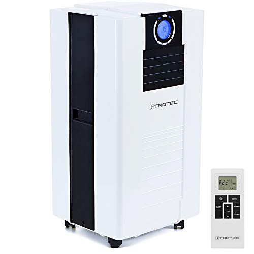 TROTEC Lokales mobiles Klimagerät Klimaanlage PAC 4700 X mit 4,7 kW / 16.000 Btu, EEK A