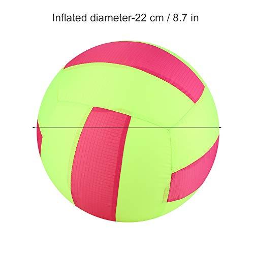 Dilwe Kinder Aufblasbare Ball Spielzeug, Aufblasbare Tuch Ball Tuch Wasserball Sport Outdoor Spielzeug für Kinder( Volleyball)