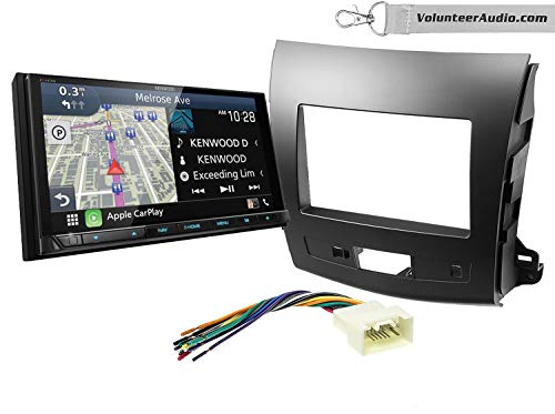 Find Discount Kenwood Excelon DNX996XR Double Din Radio Install Kit With Apple CarPlay, Android Auto...