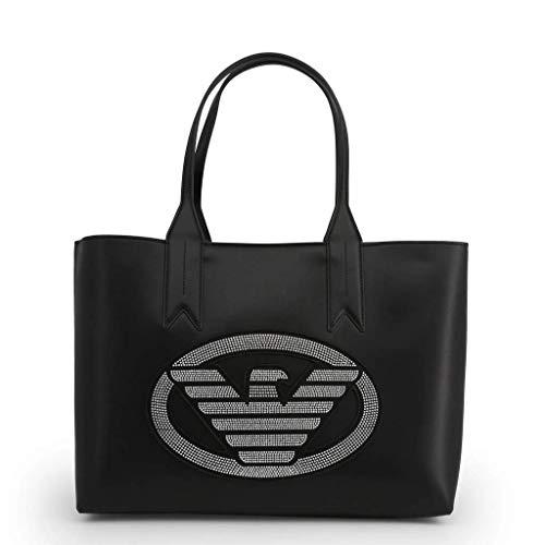 Emporio Armani Tasche BAGBLACK Damen Schwarz-Silber - Y3D081-YGE1X-82330