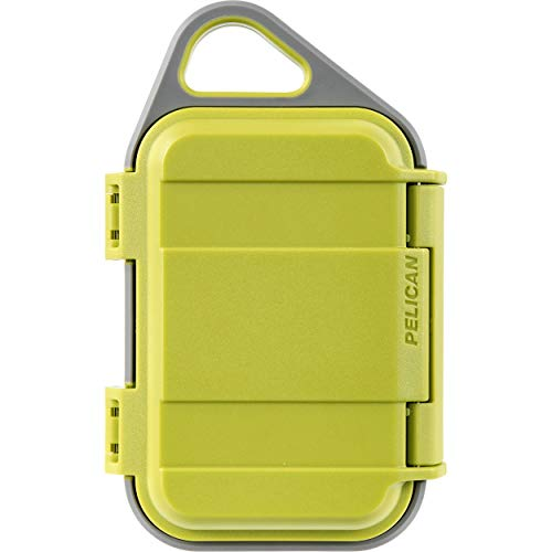 Pelican G10 Personal Utility Go Case (Lime/Gray) [並行輸入品]