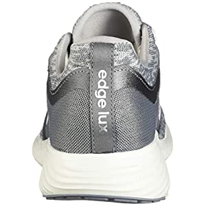 adidas Women's Edge Lux 3 Running Shoe, grey/cloud white/silver metallic, 8.5 M US