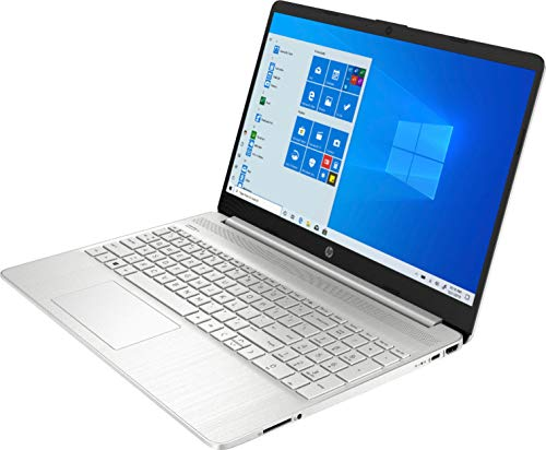 Product Image 3: 2020 HP 15.6″ Touchscreen Laptop Computer/ 10th Gen Intel Quard-Core i5 1035G1 up to 3.6GHz/ 12GB DDR4 RAM/ 256GB PCIe SSD/ 802.11ac WiFi/ Bluetooth 4.2/ USB 3.1 Type-C/ HDMI/ Silver/ Windows 10 Home