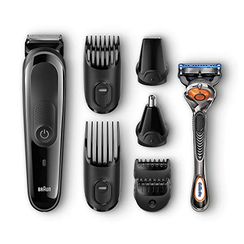 Braun 8-in-1 All-in-one Trimmer MGK3060, Beard Trimmer and Hair Clipper