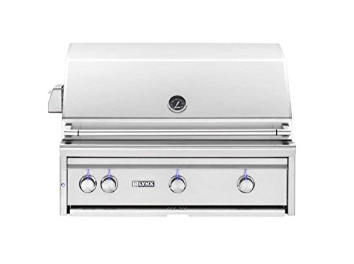 Lynx L36PSR-2-LP Built-In Propane Gas Grill with Pro Sear Burner and Rotisserie, 36-Inch