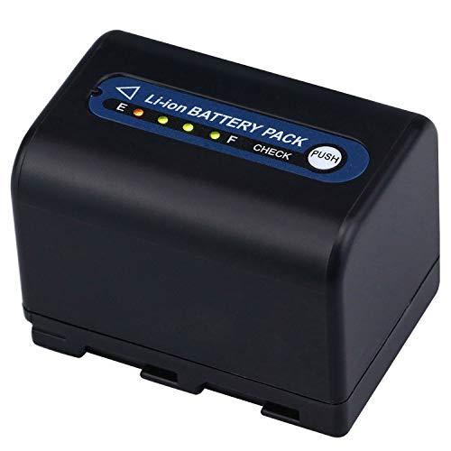 7.2V 3000mah Li-ion  Battery for Sony Camcorder NP-QM70 QM71D NP-FM50 NP-FM30 NP-FM70 NP-FM71 NP-FM90 Camera - melasta NP-QM71
