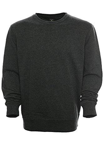 Kitaro - Sweat-shirt - Col Ras Du Cou - Manches Longues - Homme - gris - Large
