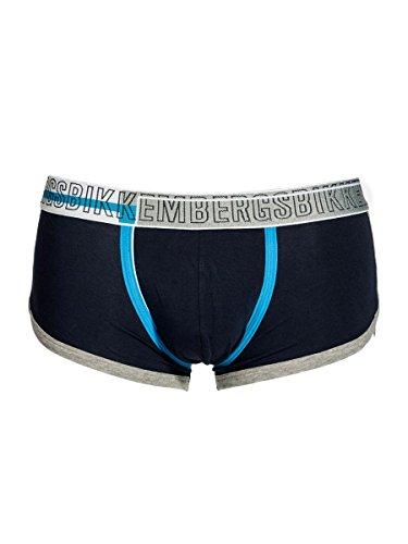 Bikkembergs Boxershorts Panty aus elastischer Baumwolle blau B4B4015 0023, Blau S
